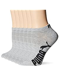 PUMA womens Athletic Low Cut Sock With Arch Support 6-pack