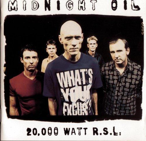 20,000 Watts R.S.L.: Greatest Hits by Midnight Oil (1997-11-04)