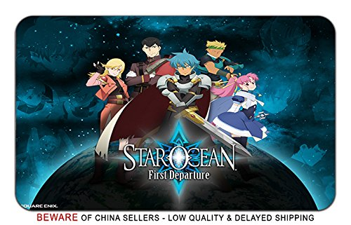 Star Ocean Game Stylish Playmat Mousepad (24 x 14) Inches [MP] Star Ocean-12