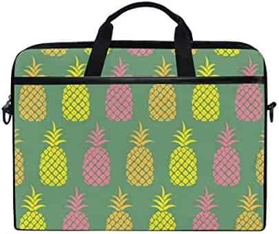 LUPINZ Tropical Flowers With Pineapple Painting Travel Luggage Packing Organizers 3 Pieces Travel Cubes
