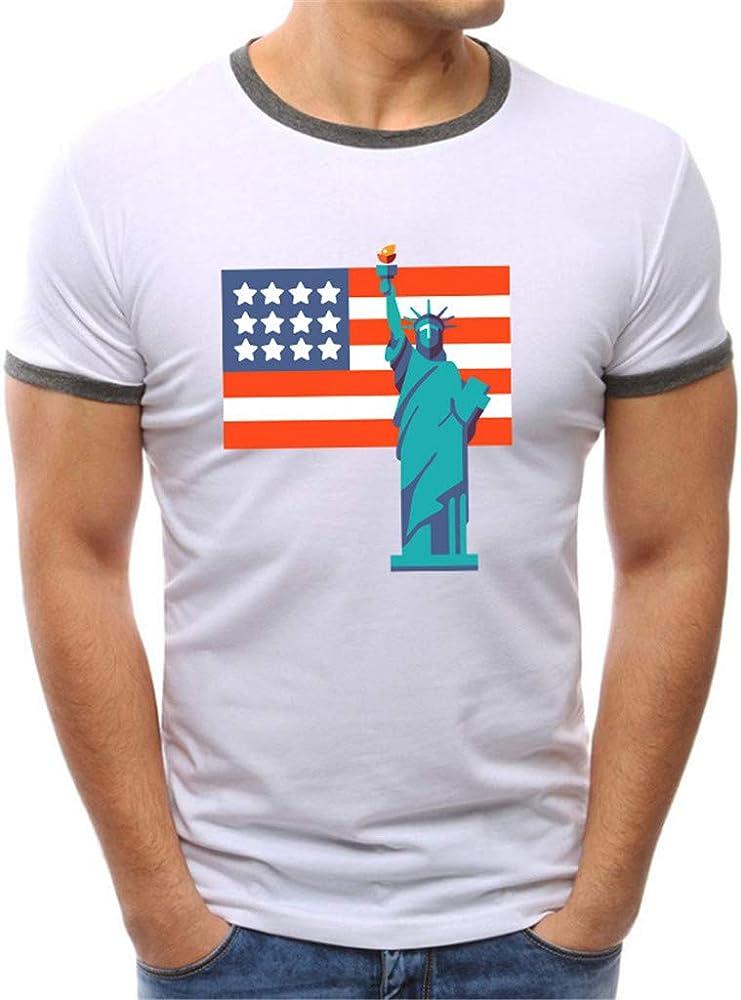 Fannyfuny camiseta Hombre Verano Casuales Camisetas de Manga Corta Deporte Tank Top Camisas Impresión de Estilo Grafiti Blusas Suave Básica Slim Fit Chándal T-Shirt: Amazon.es: Ropa y accesorios
