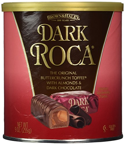 Brown and Haley Dark Roca (2 Pack) (Brown & Haley Almond Candy)