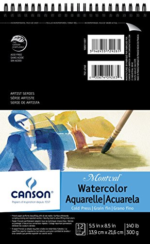 Montval Watercolor Pad X8 5 Wire product image
