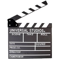 Black Professional Vintage TV Movie Film Clap Board Slate Cut Prop Director Clapper