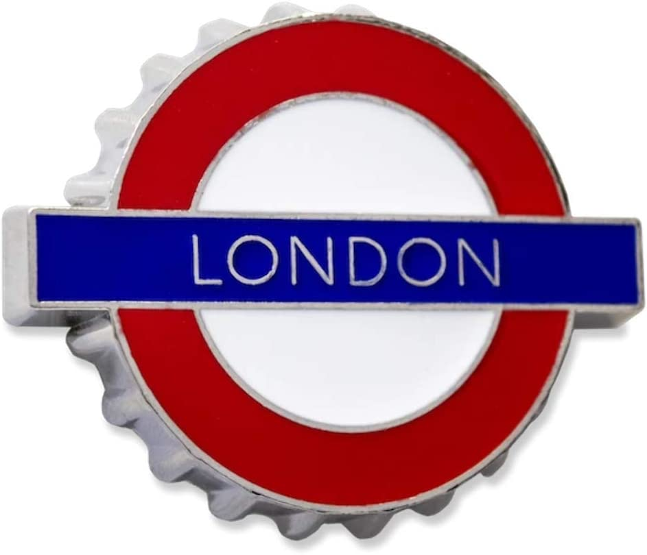 London Underground Sign GWC London Metal Fridge Magnet// Bottle Opener