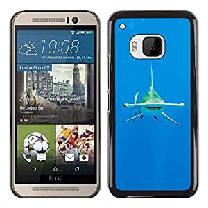 Plastic Shell Protective Case Cover || HTC One M9 || Ocean Tropical Water Sea @XPTECH