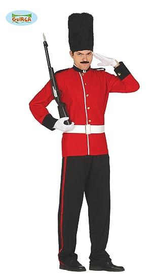 Disfraz de Soldado Inglés Talla M/L: Amazon.es: Ropa y ...