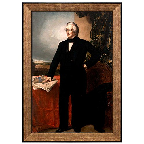 Portrait of Millard Fillmore by G P A Healy (13th President of the United States) American Presidents Series Framed Art Print