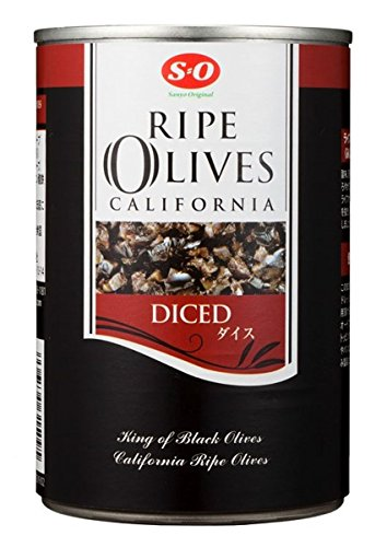 SO dice ripe olives # 4 (383g) X4 pieces by SO (Esuo)