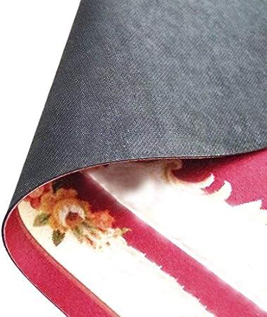 ZMvise Felpudo lavable personalizado para puerta, botella de uva y copa de vino tinto, alfombra decorativa para interiores y exteriores, 15,7 x 60 cm
