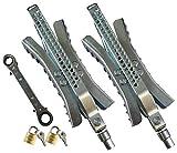 Cynder Heavy Duty Wheel Stop Chock-N-Lock with