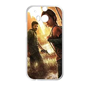 HTC One M8 Cell Phone Case White The Last of Us Remastered M2A9EK