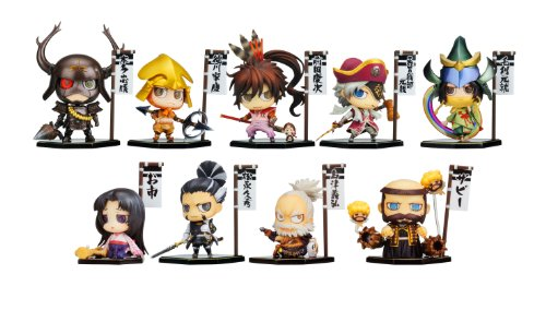Sengoku BasaraSengoku Basara: One Coin Grande Figure Collection -Fourth- 10 pieces by Kotobukiya Co., Ltd.