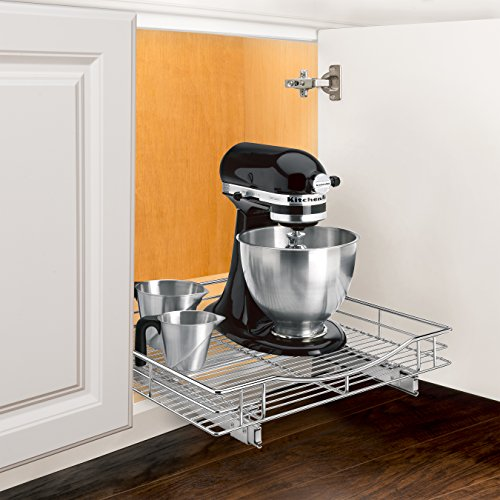 Lynk Professional Slide Out Cabinet Organizer - Pull Out Under Cabinet Sliding Shelf by Lynk (Image #1)