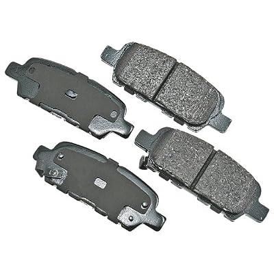 Akebono ACT905 Brake Pad Kit: Automotive
