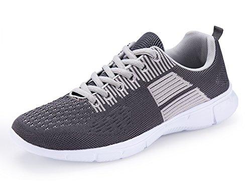 Mode-Turnschuhe einer anderen Sommer-Männer Breathable athletische Sport-Schuhe Hellgrau