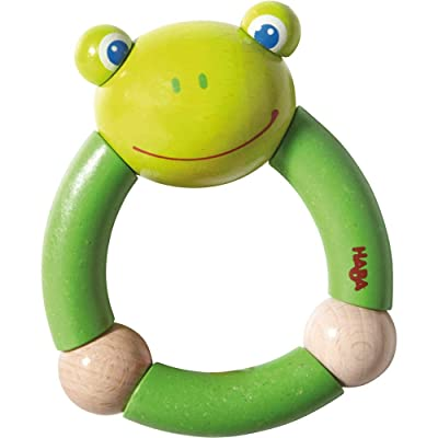 HABA Clutching Croaking Frog : Toys And Games : Baby