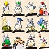 ZOEAST® Totoro Miyazaki Doraemon Cat Kitty Dust Plug 3.5mm Phone Headphone Jack Earphone Cap Ear Cap Dust Plug Charm iPhone 4 4S 5 5S SE 6 6S Plus HTC Samsung IPad IPod etc. (Totoro-12pcs)