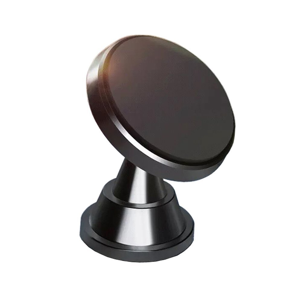 Magnetic Car Mount Holder,KAKOM Universal 360° Rotation Car Mount Holder for Cell Phone iPhone X 8 7 Plus 6S 6 5s 5 SE, Galaxy S8 S7 S6 Edge and More (1 Pack Black) KM-21