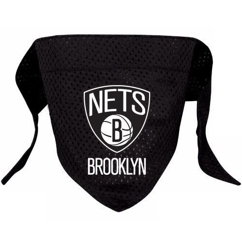Hunter MFG Brooklyn Nets Mesh Dog Bandana, Large