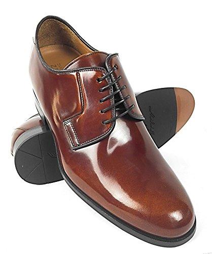 Zerimar Schuhe für Männer Erhöhen auf undsichtbare Weise Ihre Körper Grösse: Höhe Steigerundg, Versteckter anhebender Ferse, Erhöht Ihre Höhe bis Zu + 7 cm 100% Leder Farbe Leder Leder