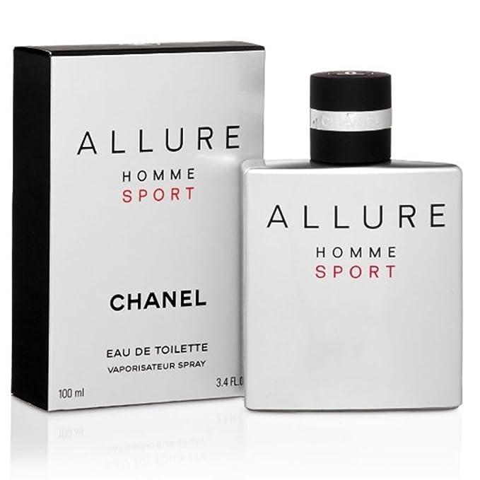 fa34f6e30 C H A N E L ALLURE HOMME SPORT 3.4 oz Eau De Toilette Spray Men by  Slumdrunk: Amazon.es: Belleza