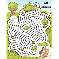 Jumbo Illustrated Mazes Workbook For Kids Ages 8-12: Funny Logical Maze Puzzle Books For Kids Ages 8-12 Years (maZe 4…