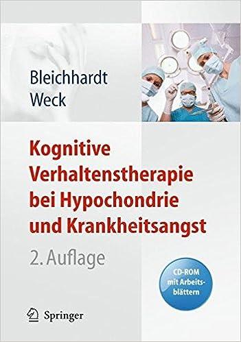 Kognitive Verhaltenstherapie bei Hypochondrie und Krankheitsangst ...