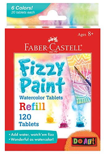 Faber Castell Fizzy Paint Refill Pack, -