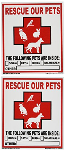 Imagine This Pet Rescue Decal Sticker (Home Depot Decals)