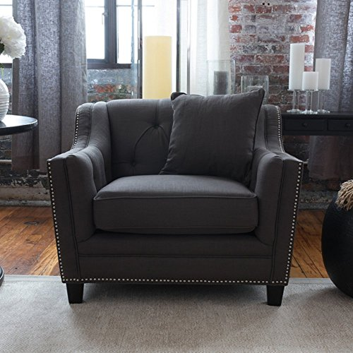 Standard Furniture Santa (Elements Fine Home Furnishings Santa Monica Standard Chair, Beachwood)