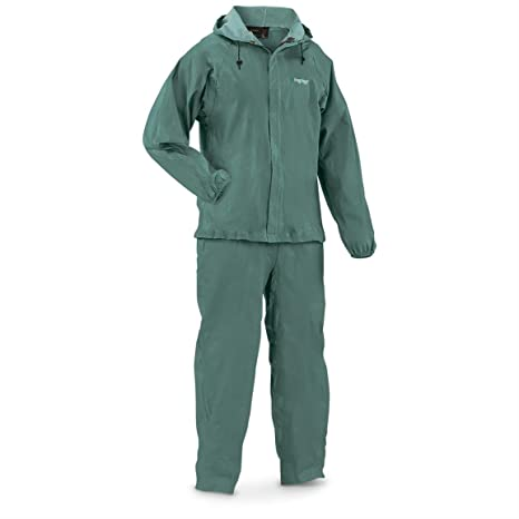 df584c5bb Frogg Toggs Men's Waterproof Ultra-Lite2 Suit, Forest Green, M