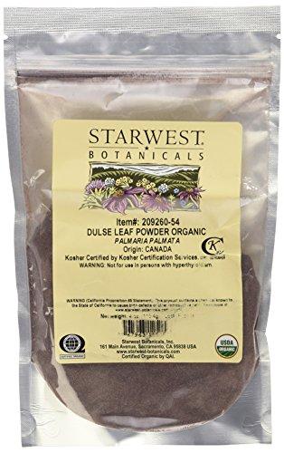 Organic Dulse Leaf Powder - 4 oz