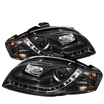 Spyder Auto PRO-YD-AA405-DRL-BK Audi A4 Black DRL LED