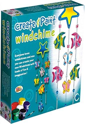 Ekta Create & Paint (Windchime) (Best Out Of Waste Wind Chime)