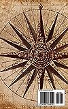 Notebook: compass map nautical antique navigation