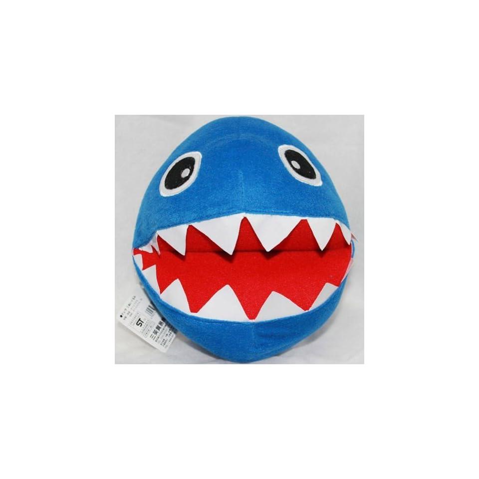 Nintendo Super Mario Plush Toy Stuffed Animal Blue Chain Chomp