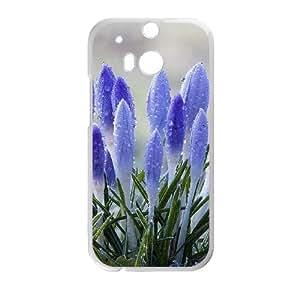 Creative Phone Case Crocus For HTC One M8 L567144