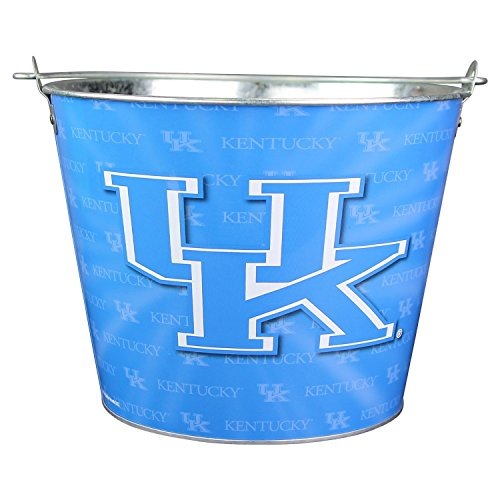 Wildcats Bucket (NCAA Full Color Team Logo Aluminum Beer and Ice Bucket (Kentucky Wildcats))