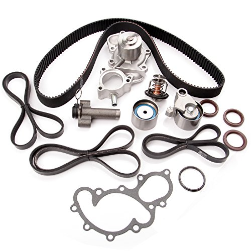 OCPTY Fits for 1995-2004 Toyota 4Runner T100 Tacoma Tundra 3.4L 5VZFE V6 DOHC Timing Belt Water Pump ()