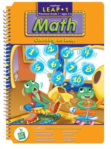 Original - 1 Pack - First Grade LeapPad Book: Counting on Leap