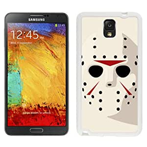 New Beautiful Custom Designed Cover Case For Samsung Galaxy Note 3 N900A N900V N900P N900T With Jason Friday 13th Hockey Mask (2) Phone Case