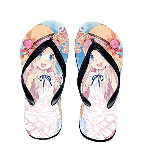 Bromeo The Future Diary Anime Unisex Flip Flops Chanclas 282