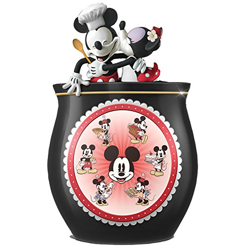Disney's Mickey And Minnie As Sweet As You Cookie Jar - Handpainted Ceramic by GALLERY MARKETING GROUP ULC