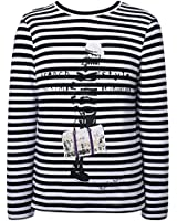 Richie House Little Boys' Long sleeve striped T-shirt RH1958