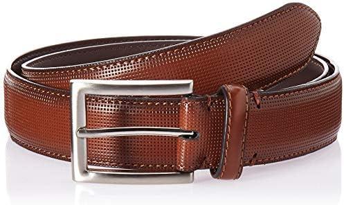 Florsheim Men/'s Sinclair 33mm Dress Casual Leather Belt