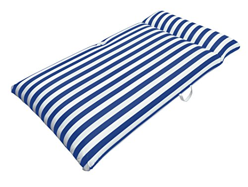 l Chaise Mattress, Navy Blue, 66