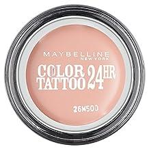 Maybelline Color Tattoo 24Hr Eyeshadow Creamy Matte 91 Crme De Rose by Maybelline