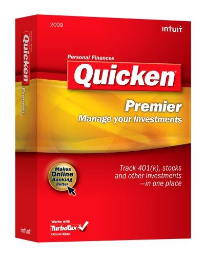 Quicken Premier 2009 [OLD VERSION] by Intuit