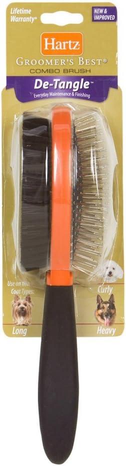 Hartz Groomer's Best Combo Detangling Dog Brush